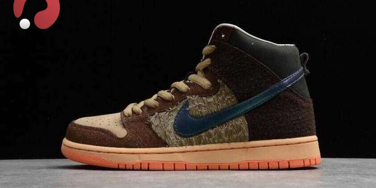 Latest Nike SB Dunk High PRO Concepts Rattan Baroque Brown for Sale