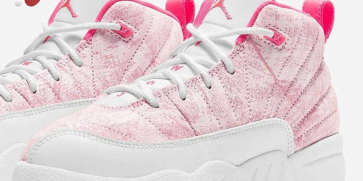 Girls-Exclusive Air Jordan 12 Hyper Pink Coming With Worn Leathers