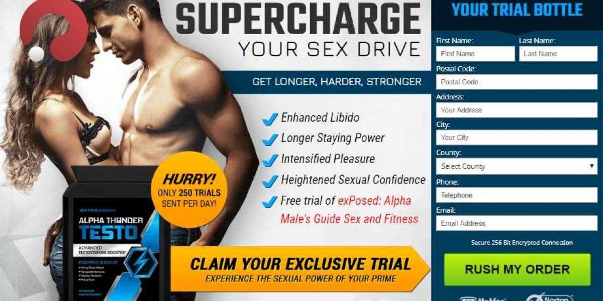 Alpha Thunder Testo Reviews: Must Read INGREDIENTS - Is It [Scam Or Legit]?