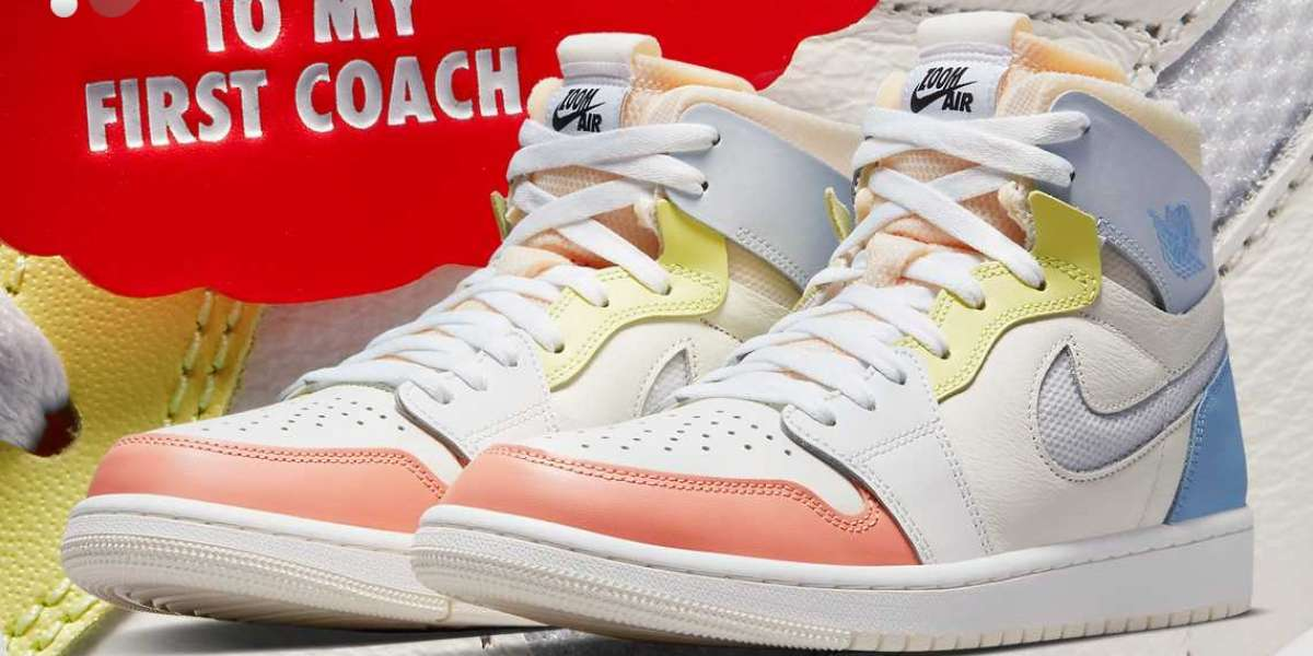 """DJ6910-100 Air Jordan 1 Zoom CMFT """"To My First Coach"""" released in April"""